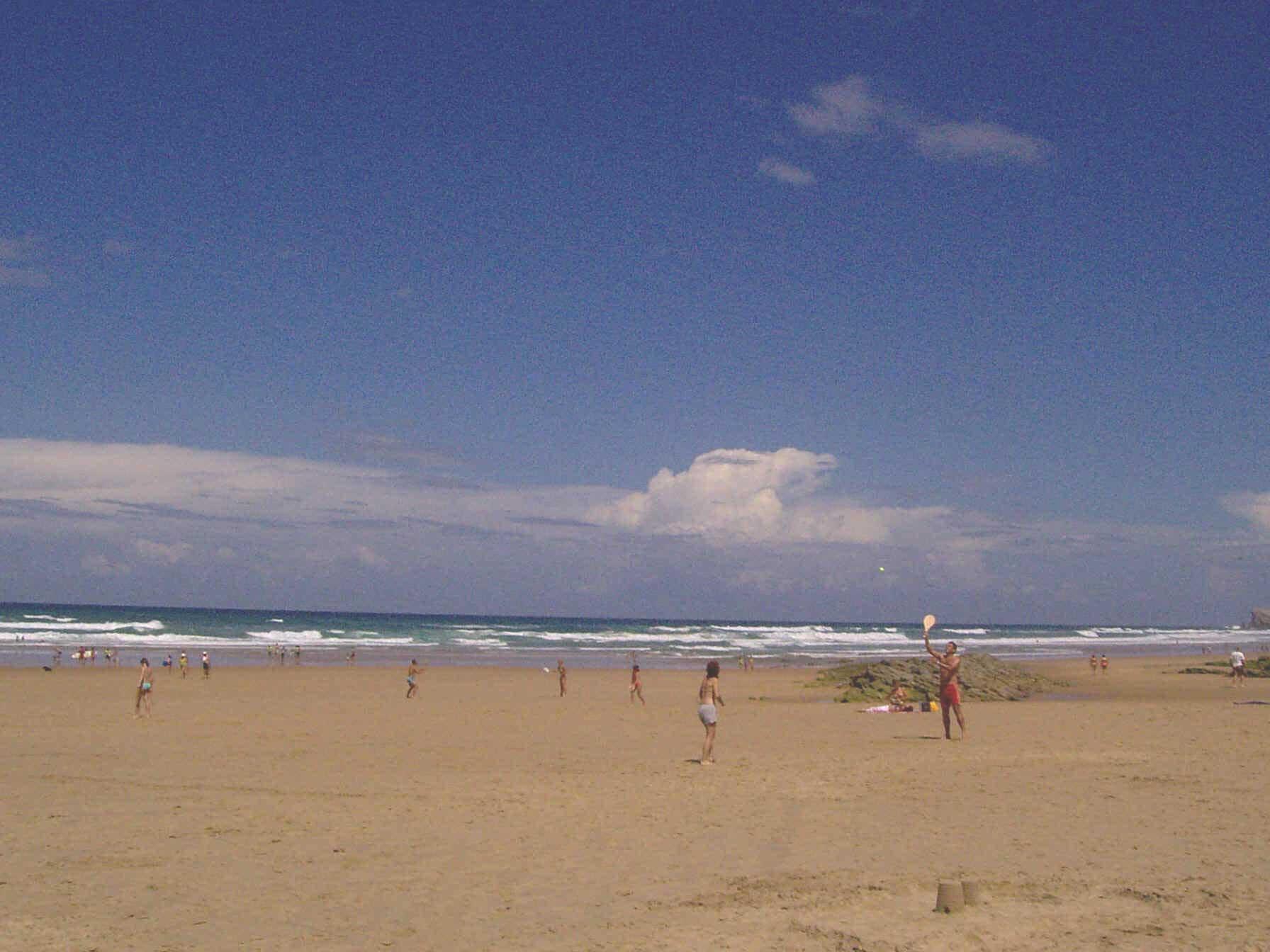 Playa de arenas. Autores: De Mier y Leva