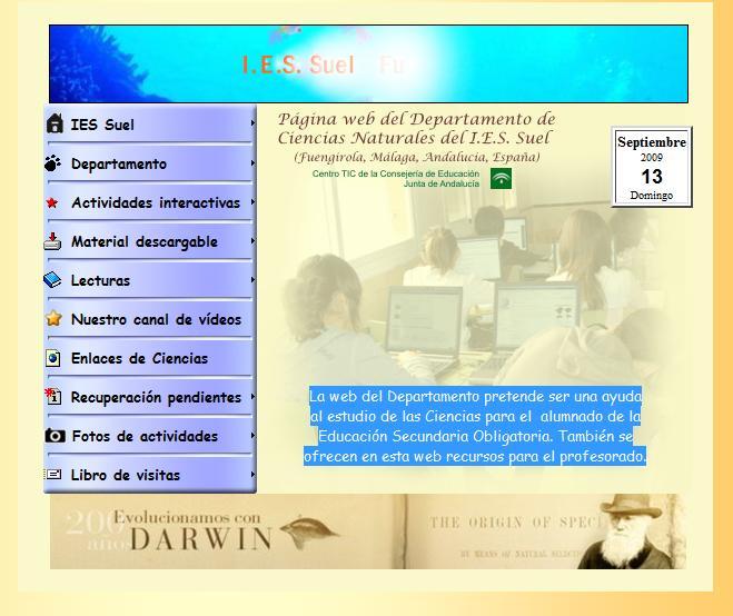 Ciencias naturales de ies suel de fuengirola for Oficina de empleo fuengirola